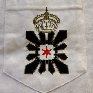 NWOT BLVCK SCVLE Crown Symbol Pocket Tee